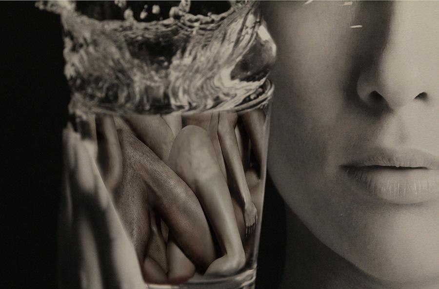 inkroci riviste letterarie - fotografia d'arte di Michele Larotonda