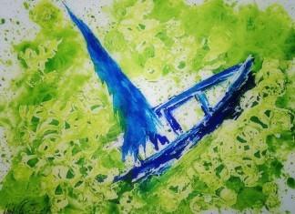 Virginia Woolf - Blu & Verde