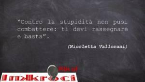 Nicoletta Vallorani aforismi
