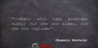 Aforismi di Eugenio Montale